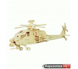 3D конструктор Вертолет истребитель
