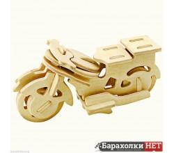 Модель сборная Мотоцикл  3D пазл