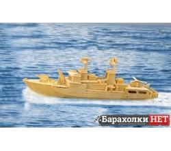 3D  пазл Крейсер Сторожевик