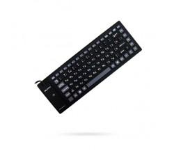 Клавиатура гибкая силиконовая Qumo mini