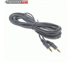 Кабель Smartbuy 3.5 Jack(M) - 3.5 Jack(M), стерео, аудио, 5 м, пакет