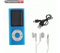 Цифровой mp3 аудио плеер Perfeo Music I-Sonic, голубой