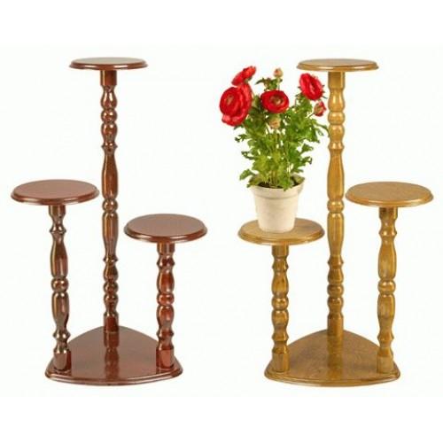 Подставки для цветов деревянные