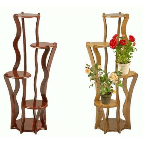 Подставка из дерева для цветов напольная высокая своими руками