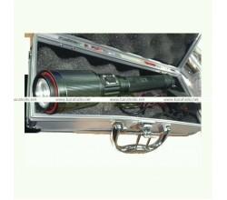 Фонарь аккумуляторный ручной с кейсом и ЗУ