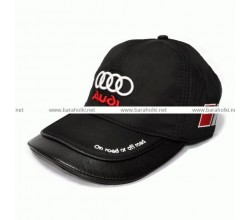 Бейсболка-кепка Audi зимняя.