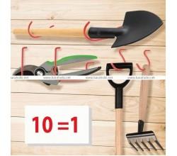 Набор 10 крюков Wall hooks