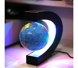 Ливитирующий глобус с картой мира