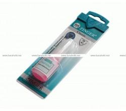 Клей для ногтей (розовый) с кисточкой GLUE