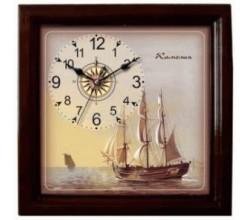 Морские настенные часы - Парусник