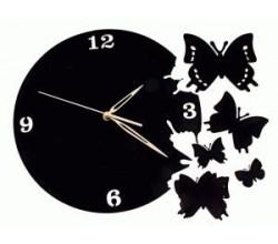 Настенные часы - Бабочки