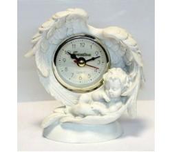 Настольные часы со спящим ангелом