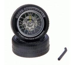 Оригинальный будильник на колесах
