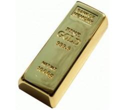 Флешка 4 гб Слиток золота