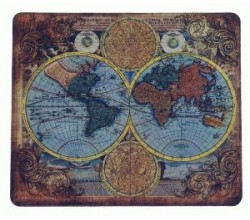 Коврик на стол карта мира