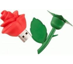 Красивая флешка Роза