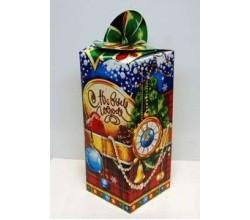 Новогодняя коробка для конфет (27 х 8 х 8 см.)