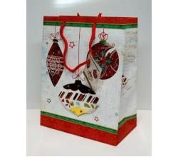 Пакет новогодний дизайн (22,5 х 18 х 10 см.)