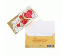 Денежный свадебный конверт