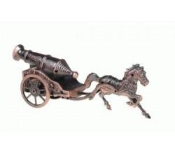 Зажигалка настольная Лошадь с пушкой