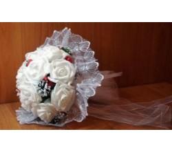 Букет невесты из лент