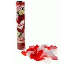 Хлопушка поворотная с лепестками роз Любовь