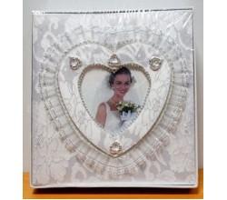 Свадебный альбом для фотографий на 80 фото, 10х15 см.