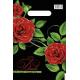 Пакетик красные розы (0,1 х 20 х 30 см.)