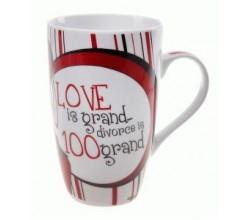 Большая чайная кружка Рифмы о любви