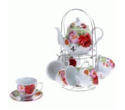 Чайный сервиз Цветы