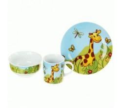 Набор детской посуды из керамики