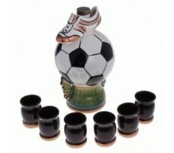 Набор винный мяч с бутсой (1 л.)