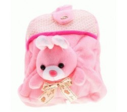 Детский рюкзак игрушка Зайка