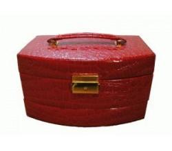 Красная шкатулка для ювелирных изделий