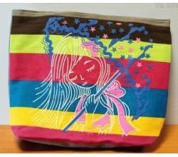 Летняя текстильная сумка