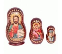 Матрешка 3 иконы