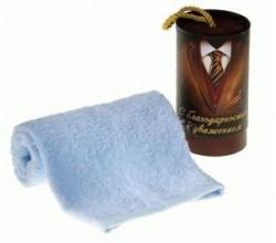 Махровое полотенце папе