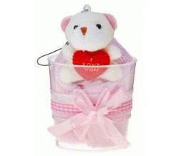 Медвежонок с полотенцем