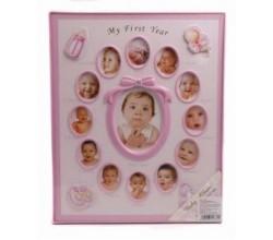 Альбом для новорожденного, 20 фото на 15х20 см., 200 фото на 10х15 см.
