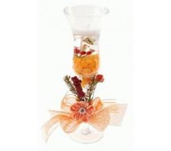 Декоративная свеча из геля