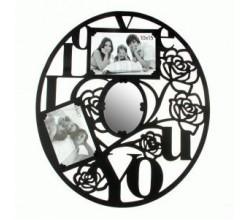 Фоторамка с зеркалом