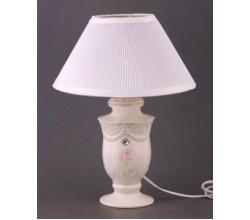 Лампа настольная с фарфоровым абажуром