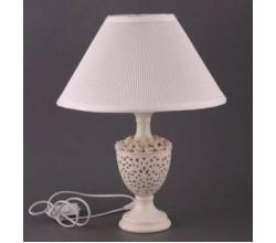 Настольная лампа белая