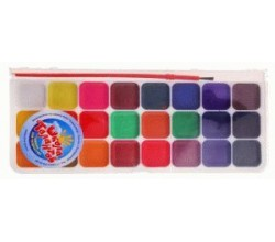 Акварельные краски 24 цвета