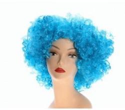 Голубой парик
