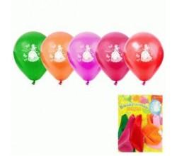 Воздушные шары для девочки на День Рождения (5 шт.)