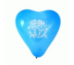 Воздушный шарик сердце (2 шт.)