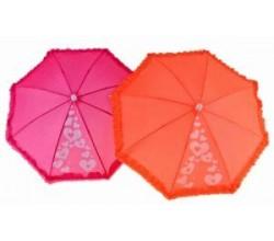 Детский зонтик с оборкой