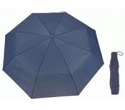 Зонт механический темно синий