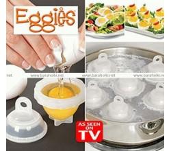 Контейнеры для варки яиц без скорлупы